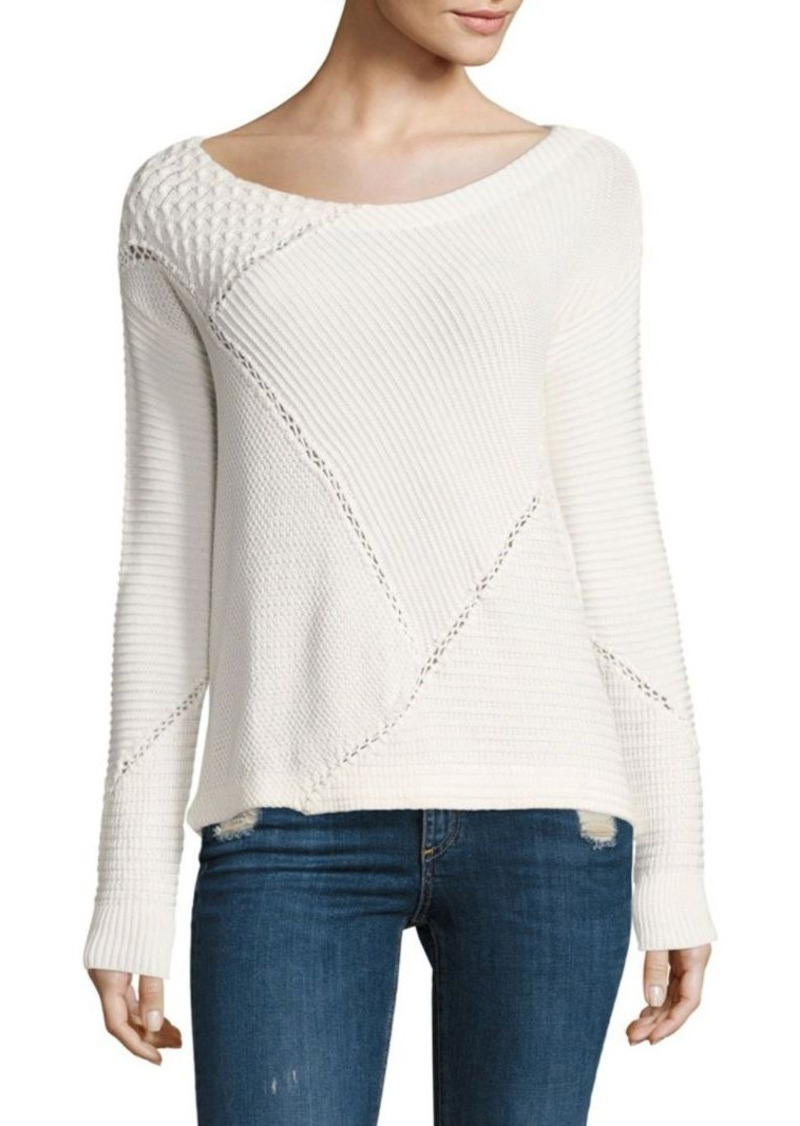 Splendid Quilt Patch Sweater
