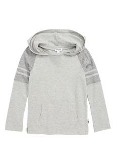 Splendid Raglan Sleeve Hooded Pullover Shirt (Toddler Boys & Little Boys)