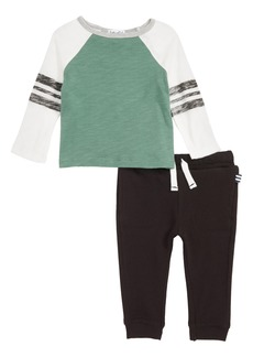Splendid Raglan T-Shirt & Jogger Pants Set (Baby)