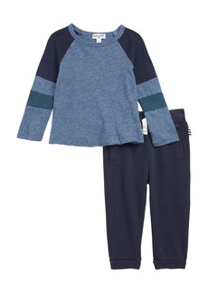 Splendid Raglan T-Shirt & Jogger Pants Set (Baby Boys)