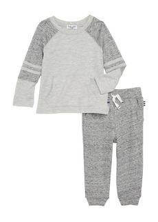 Splendid Raglan T-Shirt & Sweatpants Set (Baby)