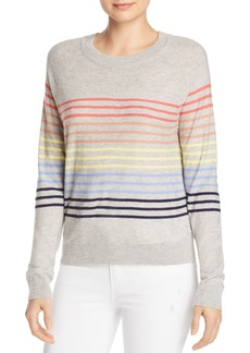 Splendid Rainbow-Stripe Sweater