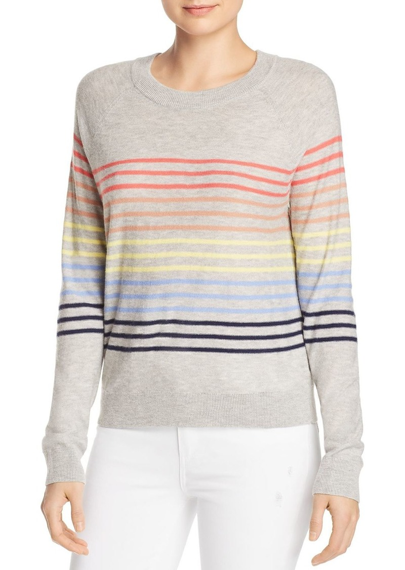 Splendid Rainbow-Stripe Sweater