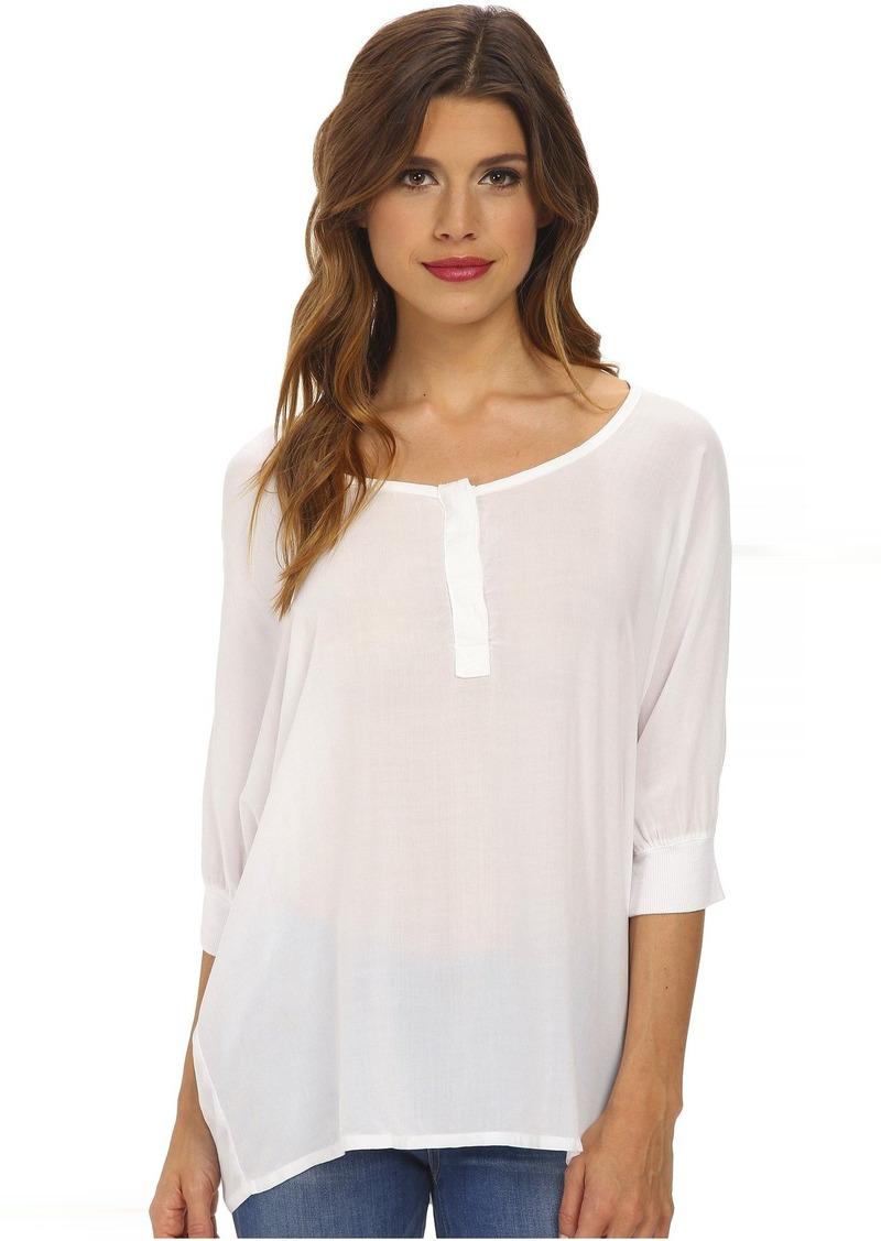 Splendid Rayon 3/4 Length Shirt