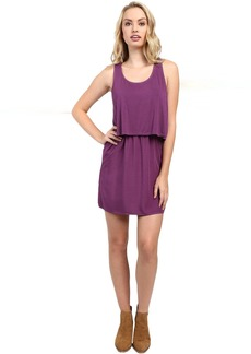 Splendid Rayon Voile and Jersey Dress