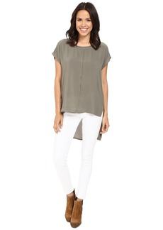 Splendid Rayon Voile Stairstep Blouse