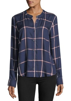 Splendid Reily Plaid Button-Up Shirt