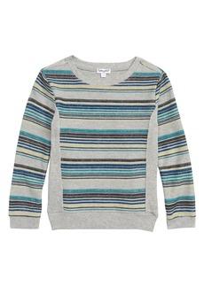 Splendid Reverse Stripe Sweater (Little Boys)