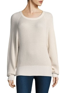 Splendid Ribbed Knit Pullover