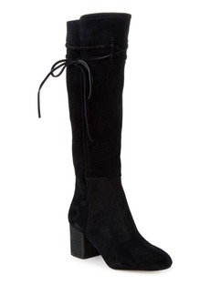 Rime Knee-High Suede Boots