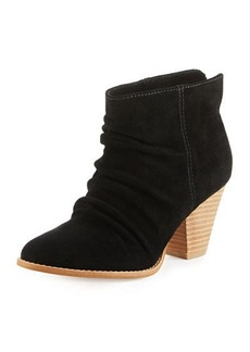Splendid Rodeo Nut Suede Bootie