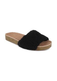 Splendid Romy Faux Shearling Slide Sandal (Women)