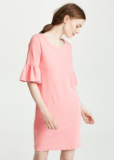 Splendid Ruffle Sleeve Tee Dress