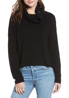Splendid Runyon Button Neck Sweater