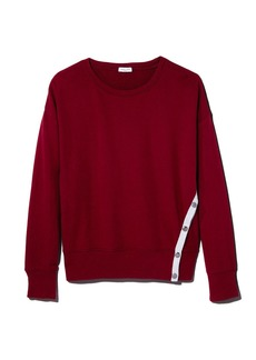 Splendid Side-Snap Sweatshirt - 100% Exclusive