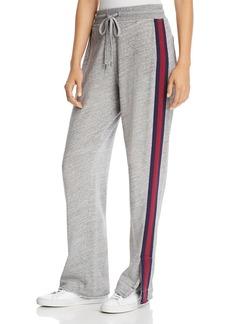 Splendid Side Stripe Drawstring Sweatpants