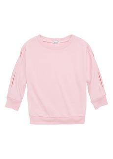 Splendid Slit Sleeve Top (Toddler Girls & Little Girls)