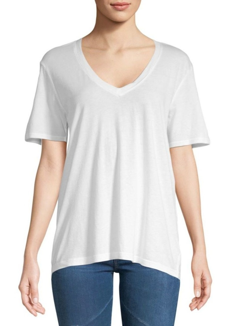 Splendid Slub V-Neck Tee