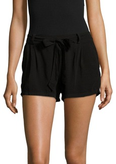 Splendid Solid Elasticized Tie-Up Shorts