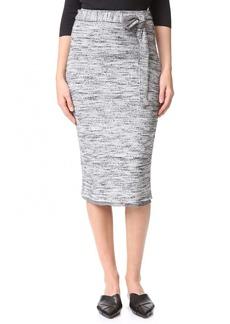 Splendid Space Dye Rib Skirt