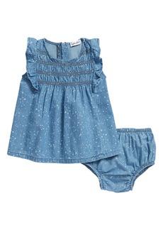 Splendid Splatter Bleach Chambray Dress (Baby)