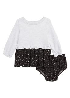 Splendid Star Print Ruffle Dress (Baby)