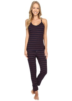Splendid Stripe Capris PJ Set