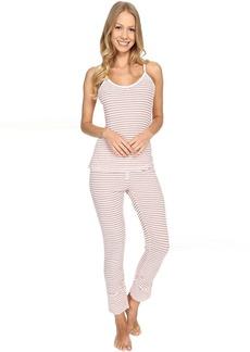Splendid Stripe Capris PJ Set