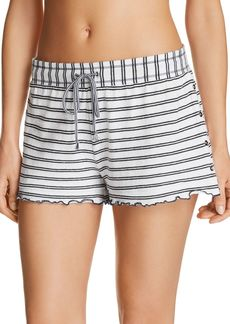 Splendid Stripe Knit Pajama Shorts