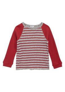 Splendid Stripe Raglan Shirt (Toddler Boys & Little Boys)