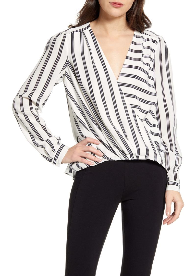 Splendid Stripe Silk Top