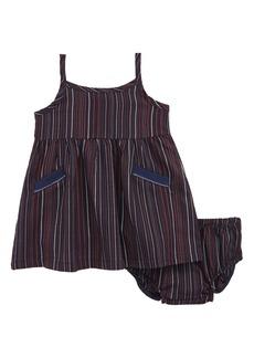 Splendid Stripe Tank Dress (Baby Girls)