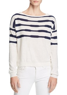 Splendid Striped Boat Neck Sweater