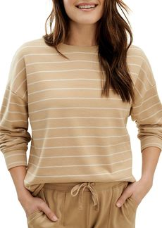 Splendid Striped Pullover Sweatshirt