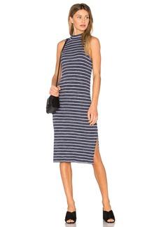 Splendid Striped Space Dye Rib Dress