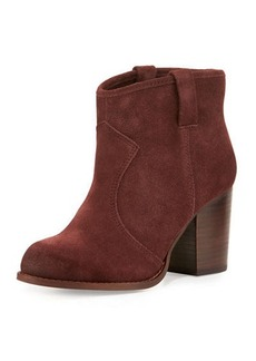 Splendid Suede Ankle Boot