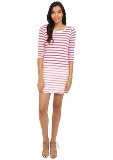 Splendid Sunfaded Stripe Jersey Dress