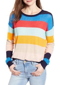 Splendid Sunray Colorblock Sweater