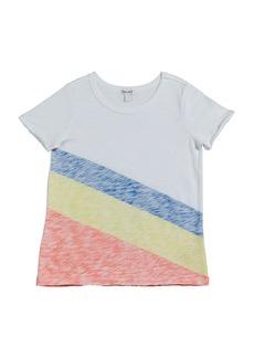 Splendid Sunrise Stripe Slub Jersey Top  Size 7-14