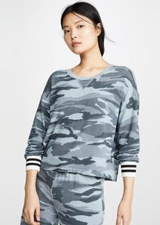Splendid Super Soft Camo Pullover