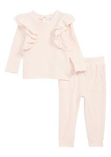 Splendid Super Soft Ruffle Top & Jogger Pants Set (Baby)