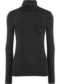 Splendid Supima cotton and modal-blend turtleneck sweater