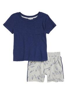 Splendid Surfboard T-Shirt & Shorts Set (Baby Boys)