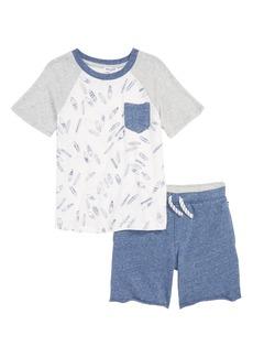 Splendid Surfboard T-Shirt & Shorts Set (Little Boys)