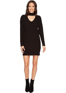 Splendid Sylvie Rib Choker Dress