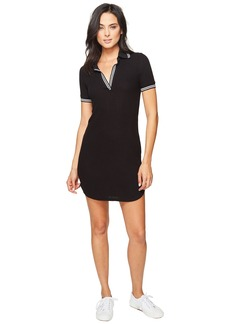 Splendid Sylvie Rib Polo Shirtdress
