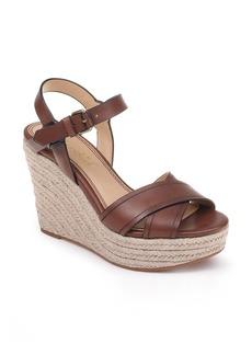 Splendid Taffeta Espadrille Wedge Sandal (Women)