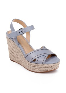Splendid Taffeta Espadrille Wedge Sandal (Women)