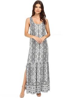 Splendid Taos Print Maxi Dress