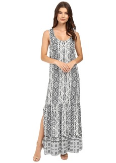 Splendid Taos Print Maxi Dress